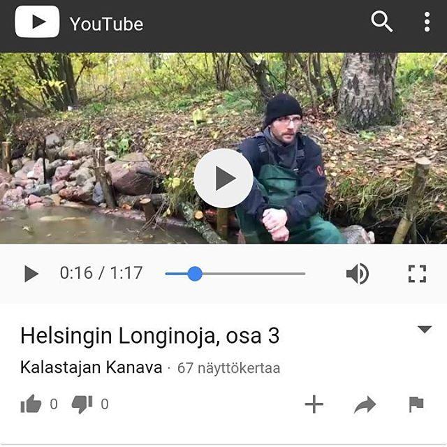 3/3 Kalastajan Kanava videoista ulkona.