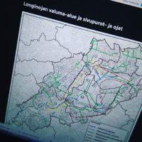 Tänään on tutustuttu valuma-alueeseen ja sen puroihin, ojiin ja viemäröinteihin.