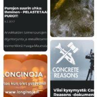 Paljon uutta materiaalia www.longinoja.fi osoitteessa mm. Pelastetaan purot tilaisuuden tallenne ja esitykset, toimintaohje mitä jos havaitset päästön luonnossa sekä dokumenttiprojekti tekijän haastattelu. Unohtamatta ystävänpäivää myös kiitokset puroaktiiveille <3