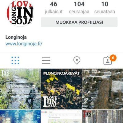 Kiitos jokaiselle seuraajalle, teitä on yli 100! Onhan jokainen tutustunut www.longinoja.fi -sivuihin?