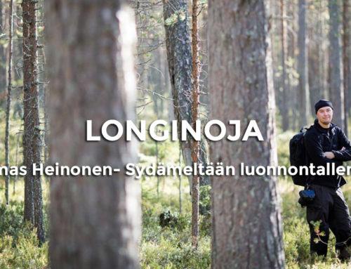 Viisi kysymystä: Luontokuvaaja -Sydämeltään luonnontallentaja Tuomas Heinonen
