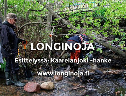 Esittelyssä: Kaarelanjoki-hanke