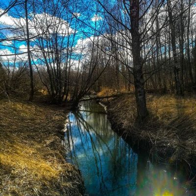 longinoja-kevat-spring-creek-river-stream-urbannaturelovers-urbannature-malmi-alamalmi-honor8-honorf-1