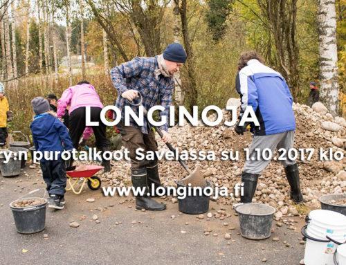 Talkoot sunnuntaina 1.10.2017 Savelan Koirapuistonkoskella – Tule parantamaan taimenten elinoloja!