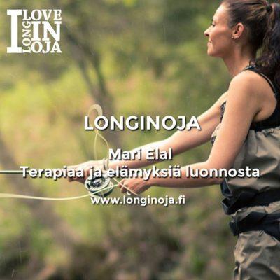 Viisi kysymystä haastattelusarja: Kalastusopas @TheraFish – Mari Elal. www.longinoja.fi Kuva @Ville Lukka Photography