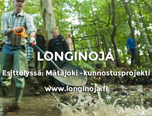Esittelyssä: Mätäjoki -kunnostusprojekti
