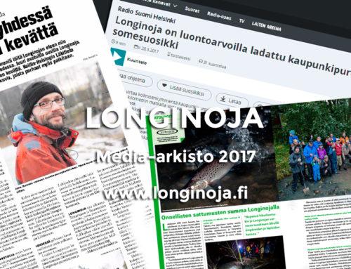 Longinoja media-arkisto vuodelta 2017