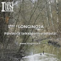 Seuraamme telkkäpariskunnan elämääwww.longinoja.fisivuilla. Soidin menossa lähellä meidän viemää pönttöäilmassa.