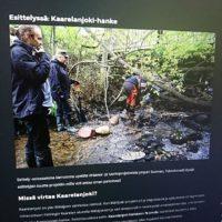 Uusi osio: Esittelyssä. Tutustu www.longinoja.fi ensimmäisenä Karpela joki - hanke. # Kannelmäki
