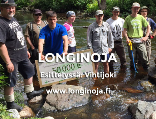 Esittelyssä: Vihtijoki -vesivoima alas, kalakannat ylös