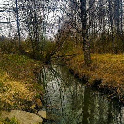 longinoja-kevat-spring-creek-river-stream-urbannaturelovers-urbannature-malmi-alamalmi-honor8-honorf