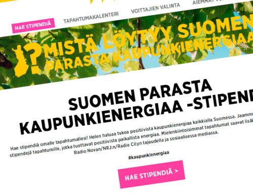 Äänestä Longinoja Helsingin energian stipendin voittoon!