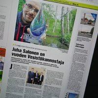 Pääjuttu Koillis-Helsingin Lähitieto - lehdessä. Lue juttu: http://bit.ly/2sp1MjD