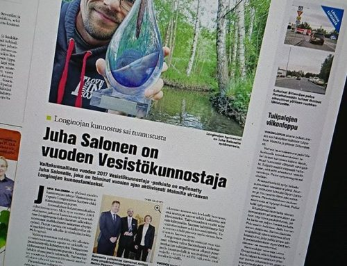 Pääjuttu Koillis-Helsingin Lähitieto – lehdessä. Lue juttu: http://bit.ly/2sp1MjD