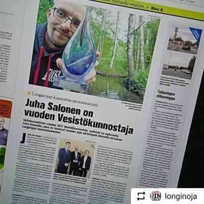 @longinoja Pääjuttu Koillis-Helsingin Lähitieto - lehdessä. Lue juttu: http://bit.ly/2sp1MjD