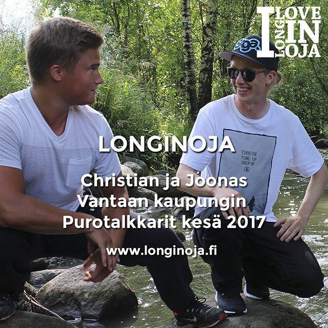 vantaan_purotalkkarit vuorossawww.longinoja.fiViisi kysymystä -haastattelusarjassa. @vantaankaupunki