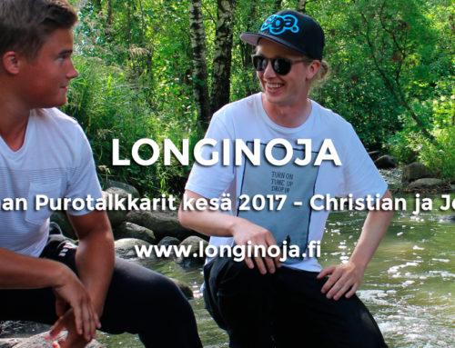 Viisi kysymystä: Vantaan kaupungin Purotalkkarit kesä 2017 – Christian ja Joonas