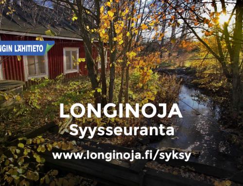 Longinoja – Syysseuranta 2017 valitut viikonkuvat