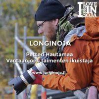 Lue uusin Viisi kysymystä -haastattelu, vuorossa luontokuvaaja Petteri Hautamaa:www.longinoja.fi