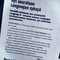 syysseuranta on alkanut. Lue lisää www.longinoja.fisyksy ja käytä Instagramista