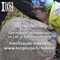 talkoot lähestyy su 1.10 klo 10 Savelassa. Lue lisää www.longinoja.fi/talkoot