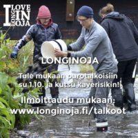 #longinojatalkoot lähestyy su 1.10 klo 10 Savelassa. Lue lisääwww.longinoja.fi/talkoot #Vantaanjoki #luonto