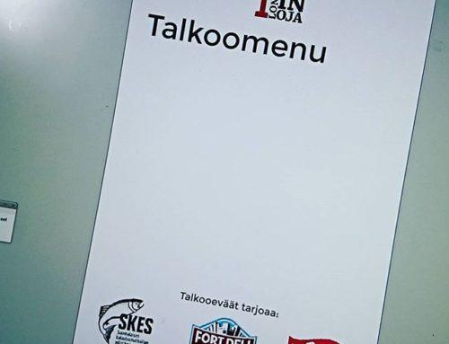 Nälkä tulee jo pelkästä ajatuksesta, mitä tähän ilmestyy talkooevääksi. Ilmoittaudu mukaan www.longinoja.fi/talkoot