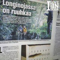 """- Taimen nostaa alueen arvoa. Siitä puhutaan ja sitä käydään katsomassa."""" Lue koko lehtijuttu www.longinoja.fi"""