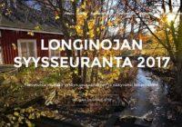 Www.longinoja.fi/syksy syysseuranta on käynnistynyt! tägi käyttämällä olet mukana seurannassa! upea kuva @arskajulli