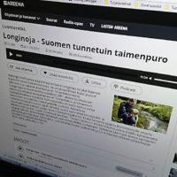 Sunnuntain radiohaastattelu nyt Www.longinoja.fi ja Yle Areenassa.