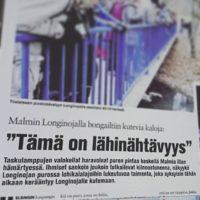 loistava juttu paikallislehdessä. Lue www.longinoja.fi