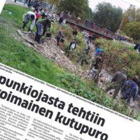 Täytyy käydä ostamassa uusin @maaseuduntulevaisuus - lehti. Hieno juttu Longinojasta.
