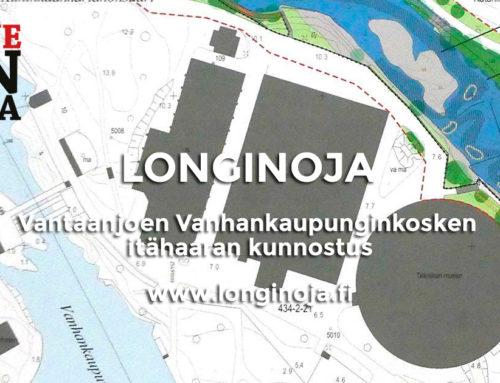 Vantaanjoen Vanhankaupunginkosken itähaaran kunnostus