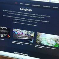 Longinoja.fi etusivulle on lisätty kolme nostoa joista löydät helposti tärkeisiin sisältöihin.