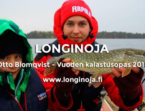 Viisi kysymystä: Vuoden 2018 kalastusopas – Otto Blomqvist