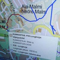 Kartta.hel.fi palvelusta löytää kaikkea kivaa. Nyt löytyi Helsingin taimenpurot ja niihin tehdyt purokunnostukset.