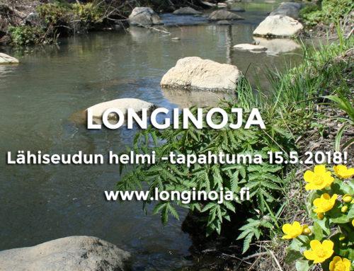Longinoja – lähiseudun helmi -tapahtuma 15.5.2018