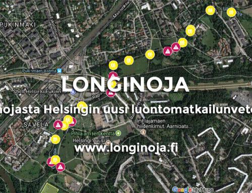 Longinojasta Helsingin uusi luontomatkailunvetonaula