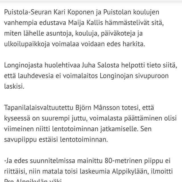 Uusimmassa Koillis-Helsingin Lähitieto - lehdessä juttu viikonlopun Alppikylän tapahtumasta.