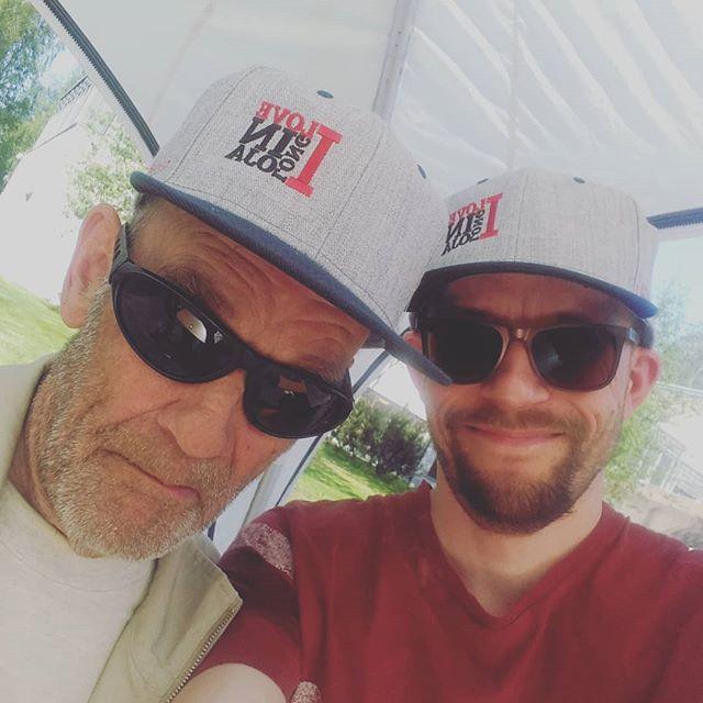 Isä ja poika <3