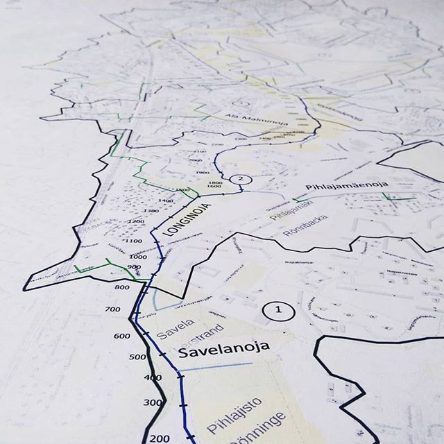 Asukastilaisuus Longinojan valuma-alueselvitys ja vesienhallinnan suunnitelma.