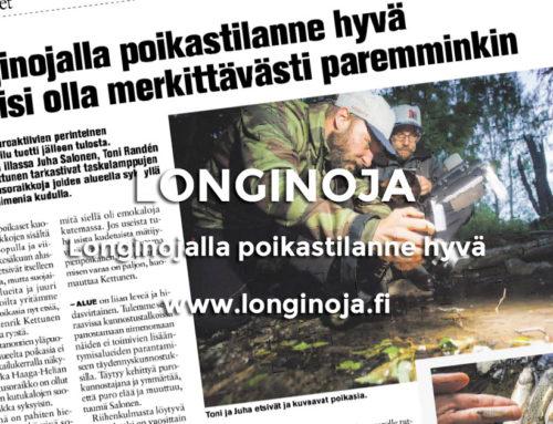 Koillis-Helsingin Lähitieto: Longinojalla poikastilanne hyvä
