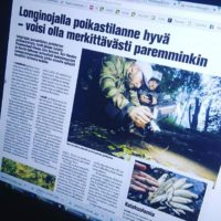 Longinojan poukastarkkailusta ja kalakuolemasta juttu Koillis-Helsingin Lähitieto -paikallislehdessä. Lue koko juttu www.longinoja.fi ja katso kuvagalleria.