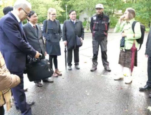 Eilen oli @longinoja hieman kauempaa saapuneita vieraita. Vietnamin vesi- ja viemäriyhdistyksen jäsenet nauttivat suomalaisesta täysin rinnoin. Retken kruunasi puroisäntä Matin keittämät nokipannukahvit.