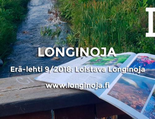 Erä-lehti 9/2018: Loistava Longinoja