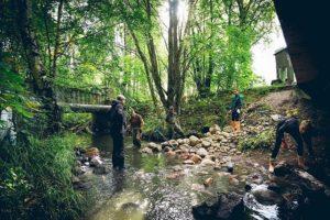 Longinoja urban brook - stream restoration 2018