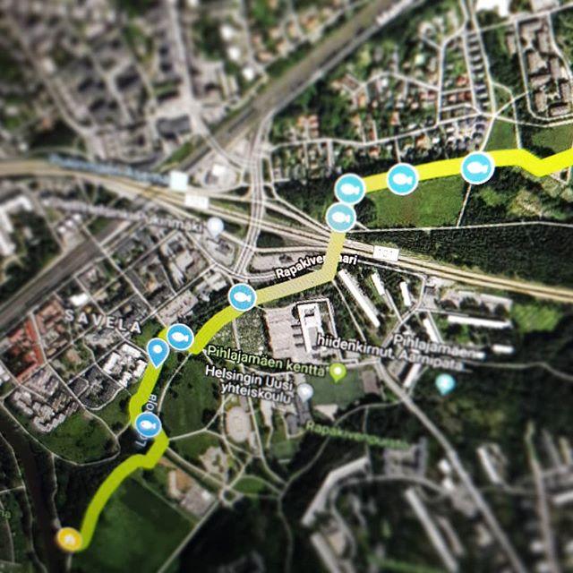Luontopolulle Oma Google Maps Kartta Longinoja