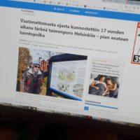 Kaksi uusinta lehtijuttua Longinojasta ja luontopolusta. Lue jutut www.longinoja.fi/luontopolku sivun alareunasta.