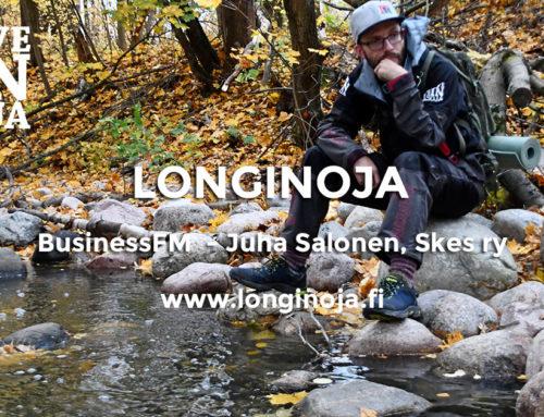 BusinessFM – Helsinkiläinen Longinoja, taimenen kutua ja yhteisöllisyyttä. Juha Salonen Skes Ry.