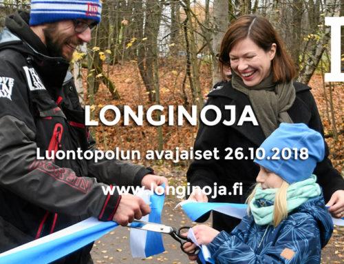 Longinojan luontopolun avajaiset – kiitos!